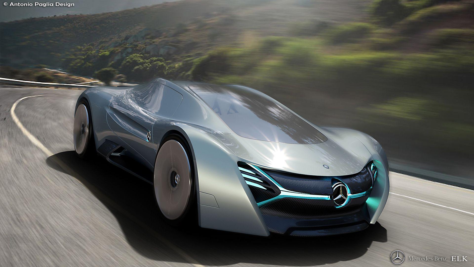 A Medium Size Sport Concept Car For Mercedes Benz Modelling With Automotive Alias Concept Cars Mercedes Electric Futuristic Cars