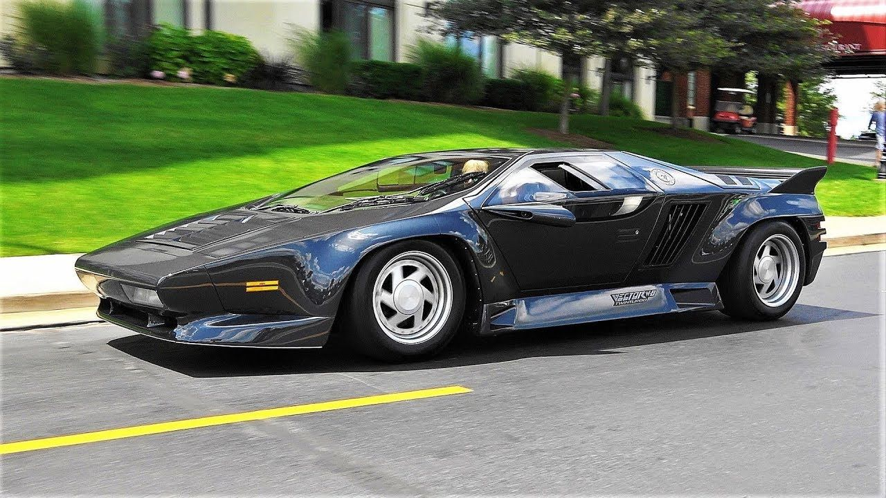 Vector W8 Twin Turbo Why Did People Bash It Super Cars Twin Turbo Fastest Production Cars