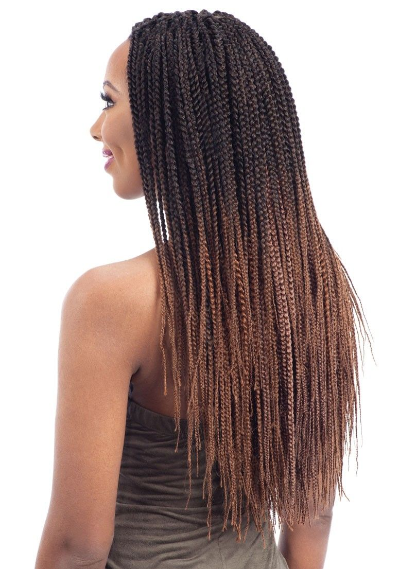 Freetress Crochet Braid Pre Feathered Box Braid 20 Inch