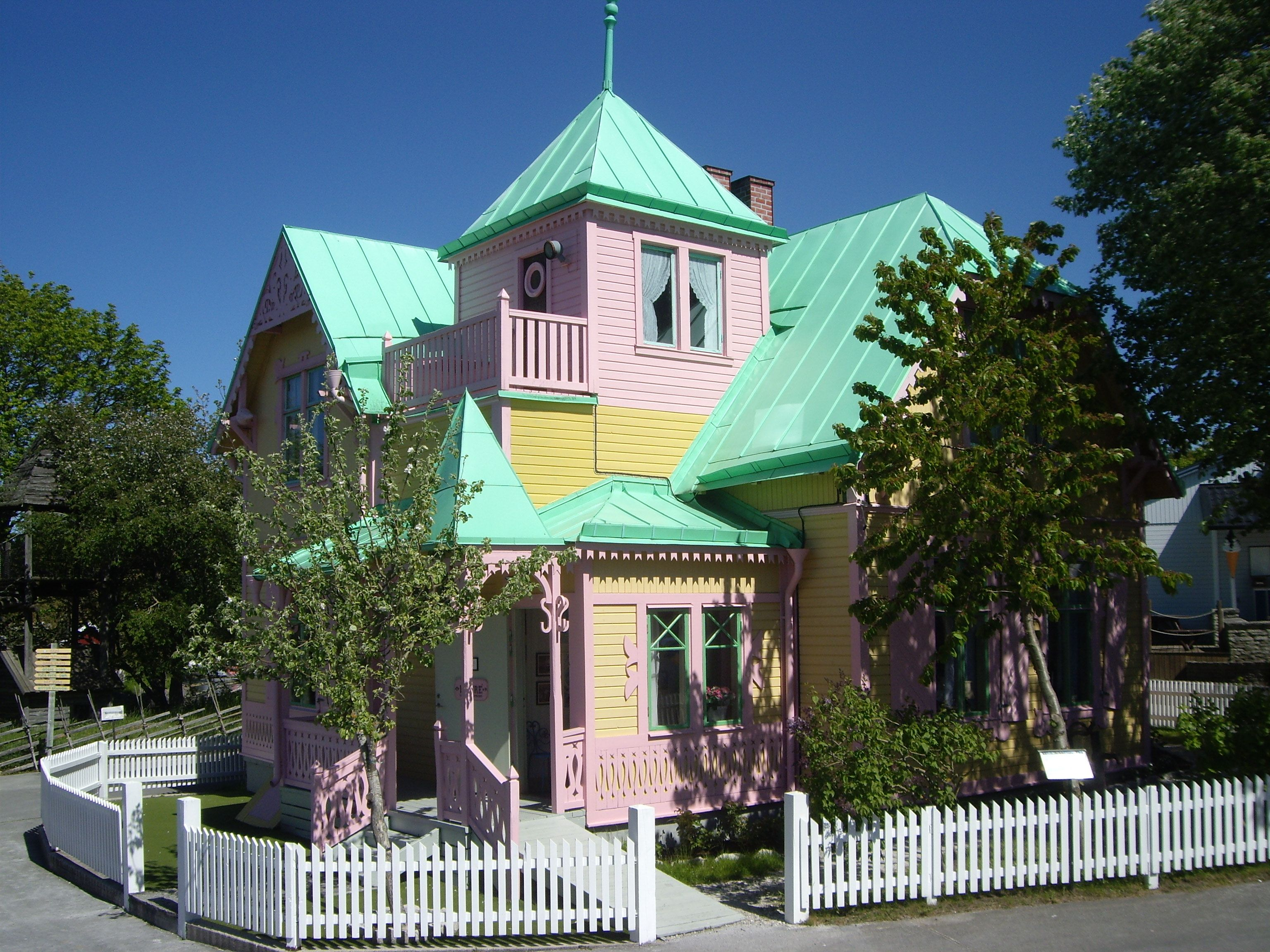 House of Pippi Longstocking near Visby Gotland Sweden