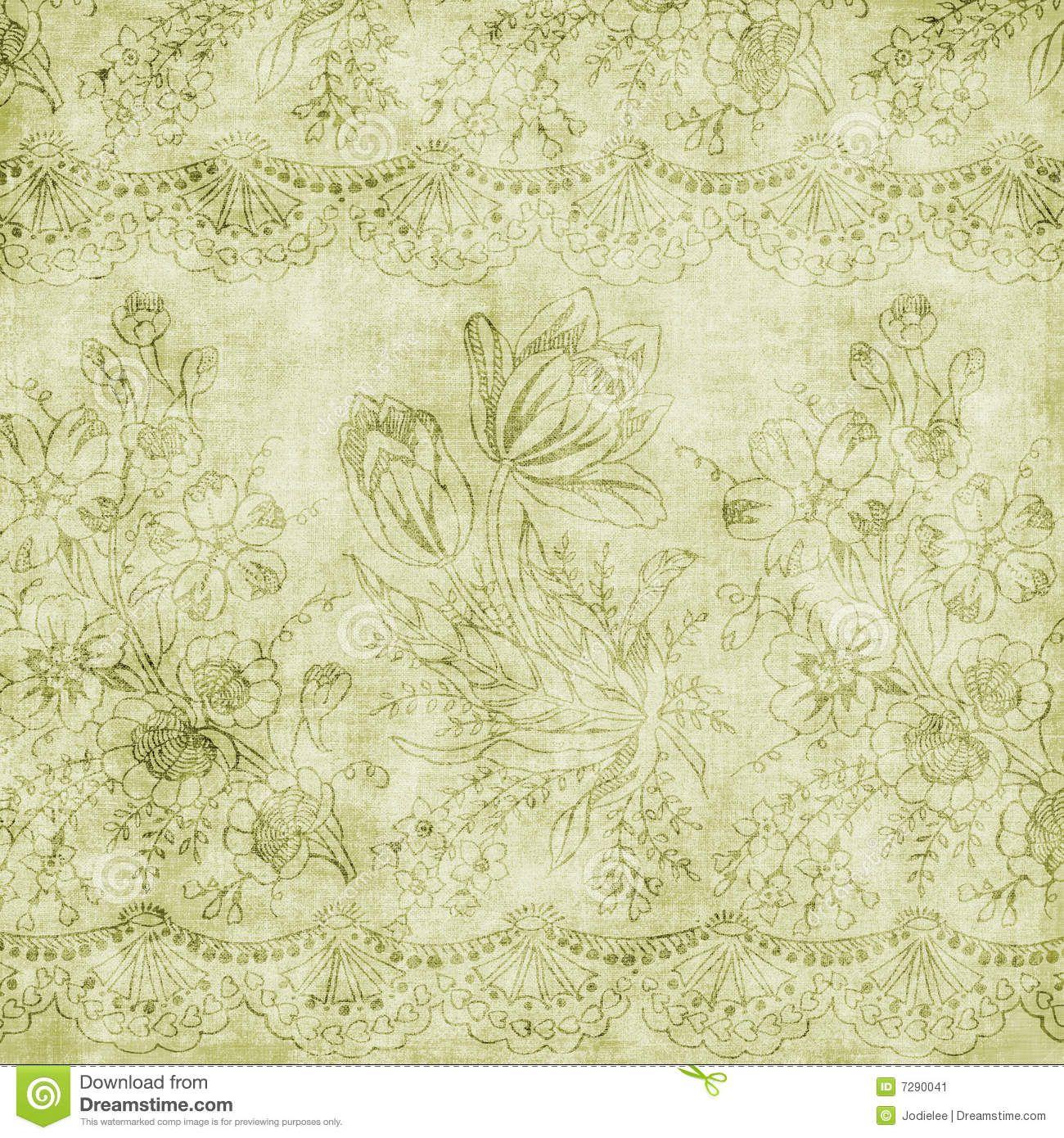 Vintage Floral Antique Background Theme Scrapbook Background Vintage Images Vintage Floral