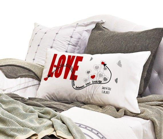 Long Distance Relationship Pillow Case \