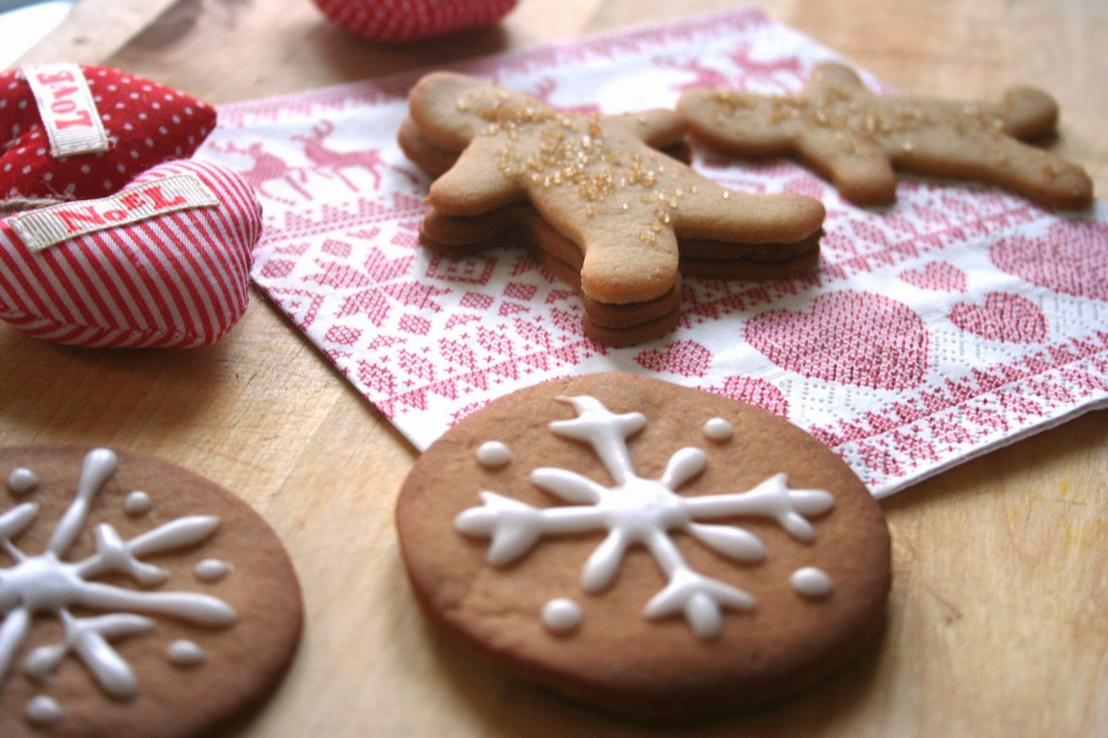 Gingerbread Cookies with Rum Christmas food gifts