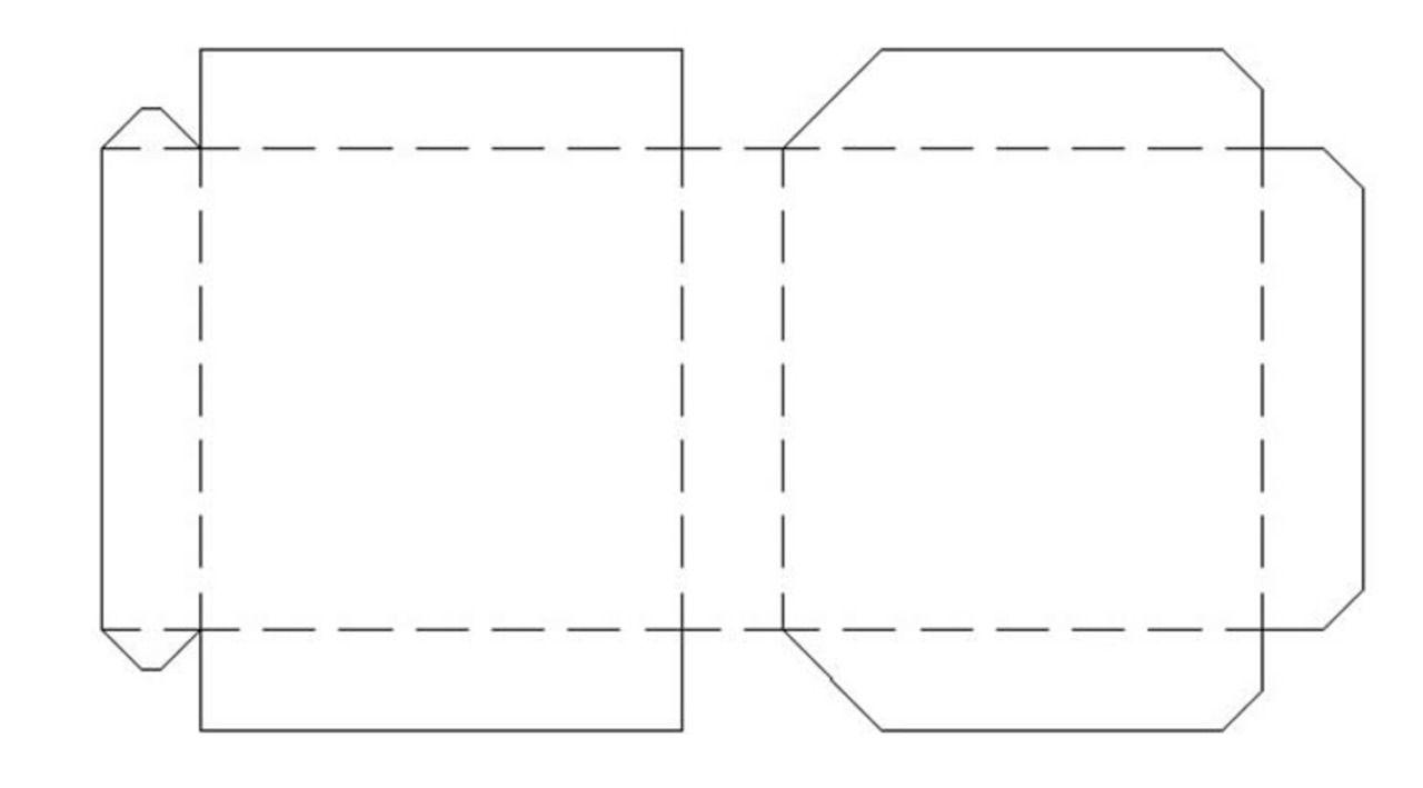 Patrones de cajas de cart n m s ideas sobre patrones de - Como hacer cajitas de cartulina ...