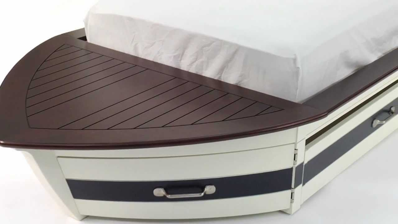 Pottery Barn Speed Boat Bed Google Search Bed Kids Bed Creative Beds