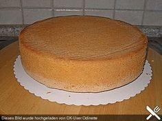 Bäckermeister - Biskuitboden