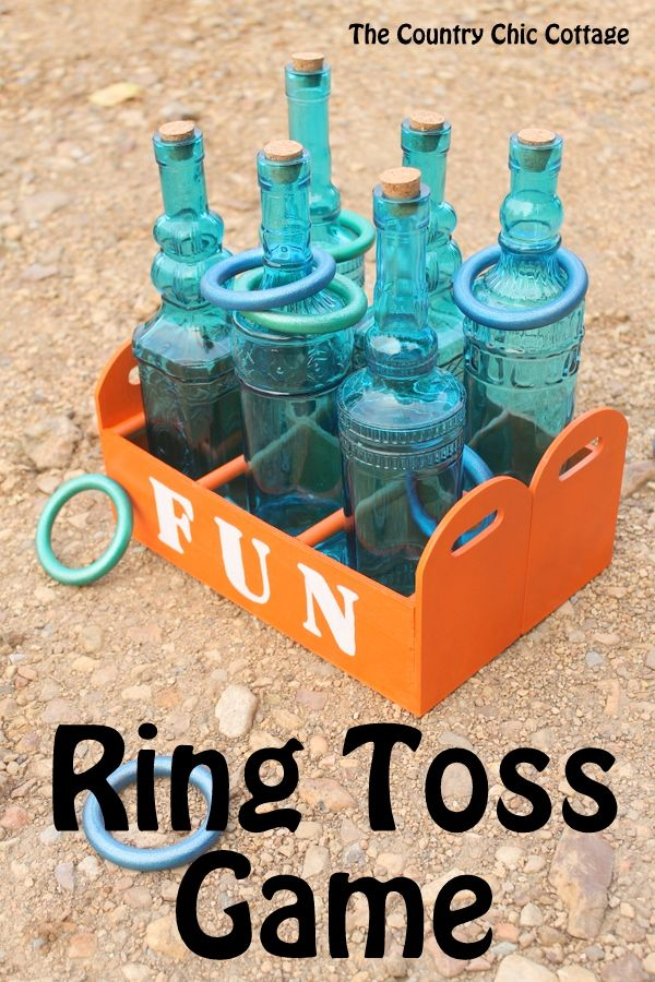 Nice Make Your Own Ring Toss Game