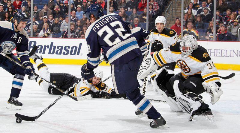 Boston Bruins vs. Columbus Blue Jackets, Thursday, NHL