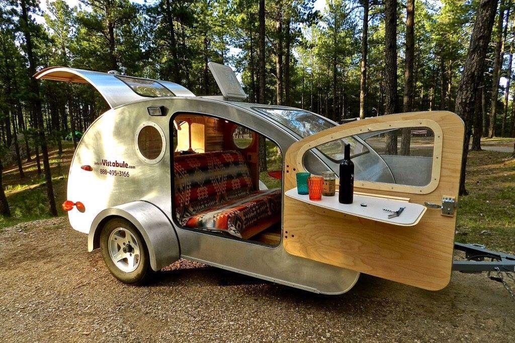 Vistabule - Teardrop trailer   cool design, pinning for DIY build