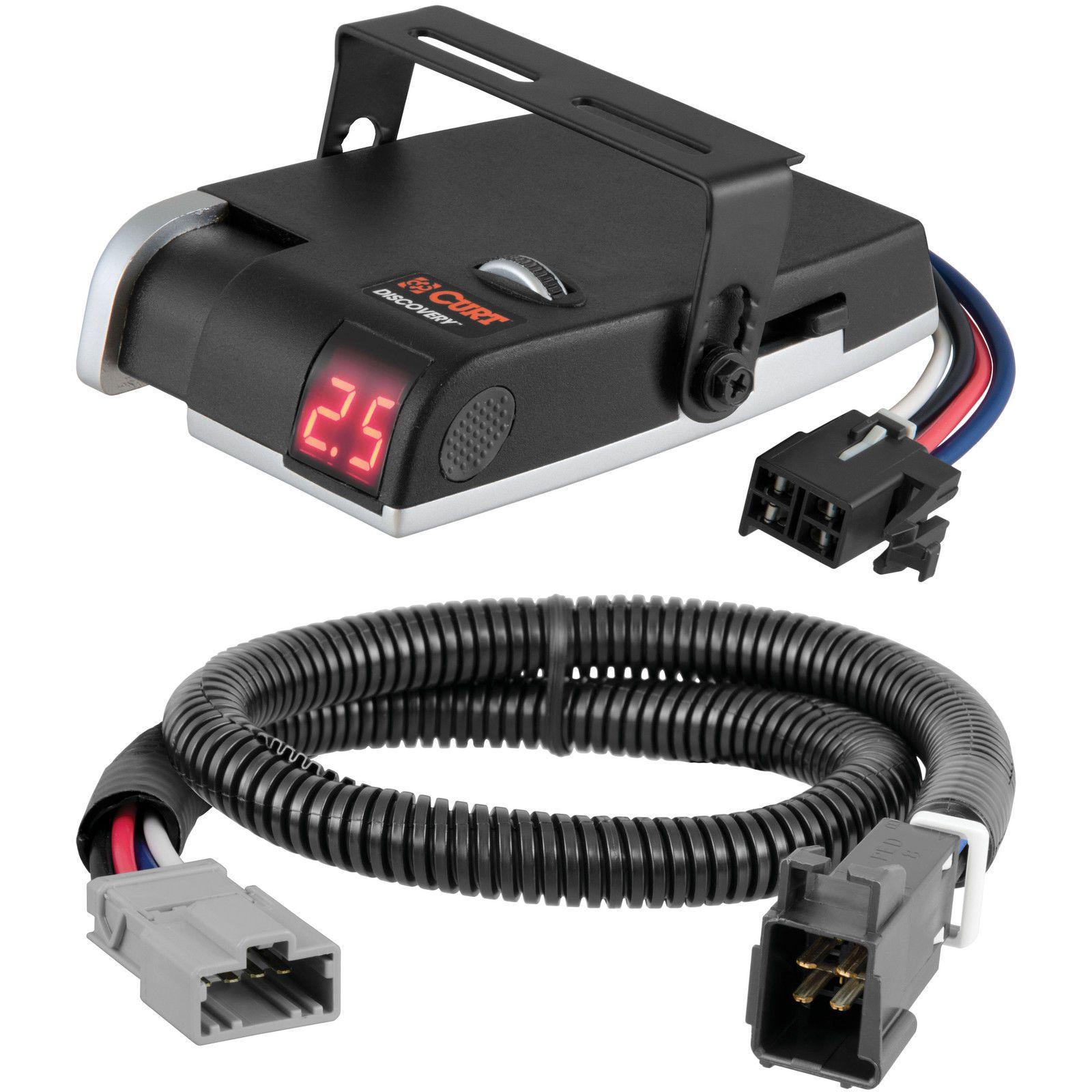 Curt Discovery Brake Controller Wiring Kit For Honda Pilot Ridgeline