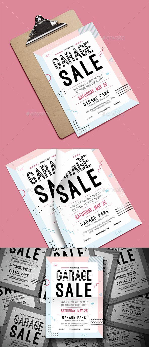 Garage Sale Flyer | Pinterest