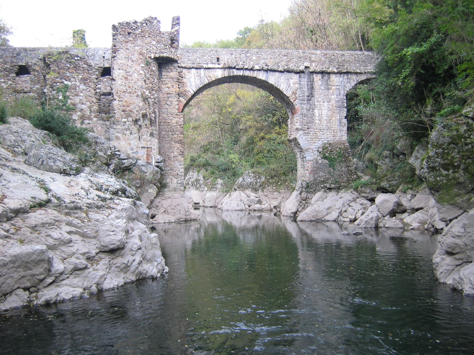 Foix valley of ari ge montoulieu pont du diable devil 39 s bridge by phil 39 ours paysages - Office de tourisme de foix ...