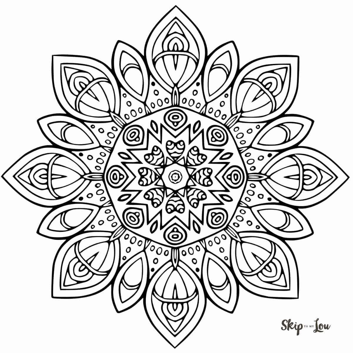 Mandala 13 | Mandala coloring pages