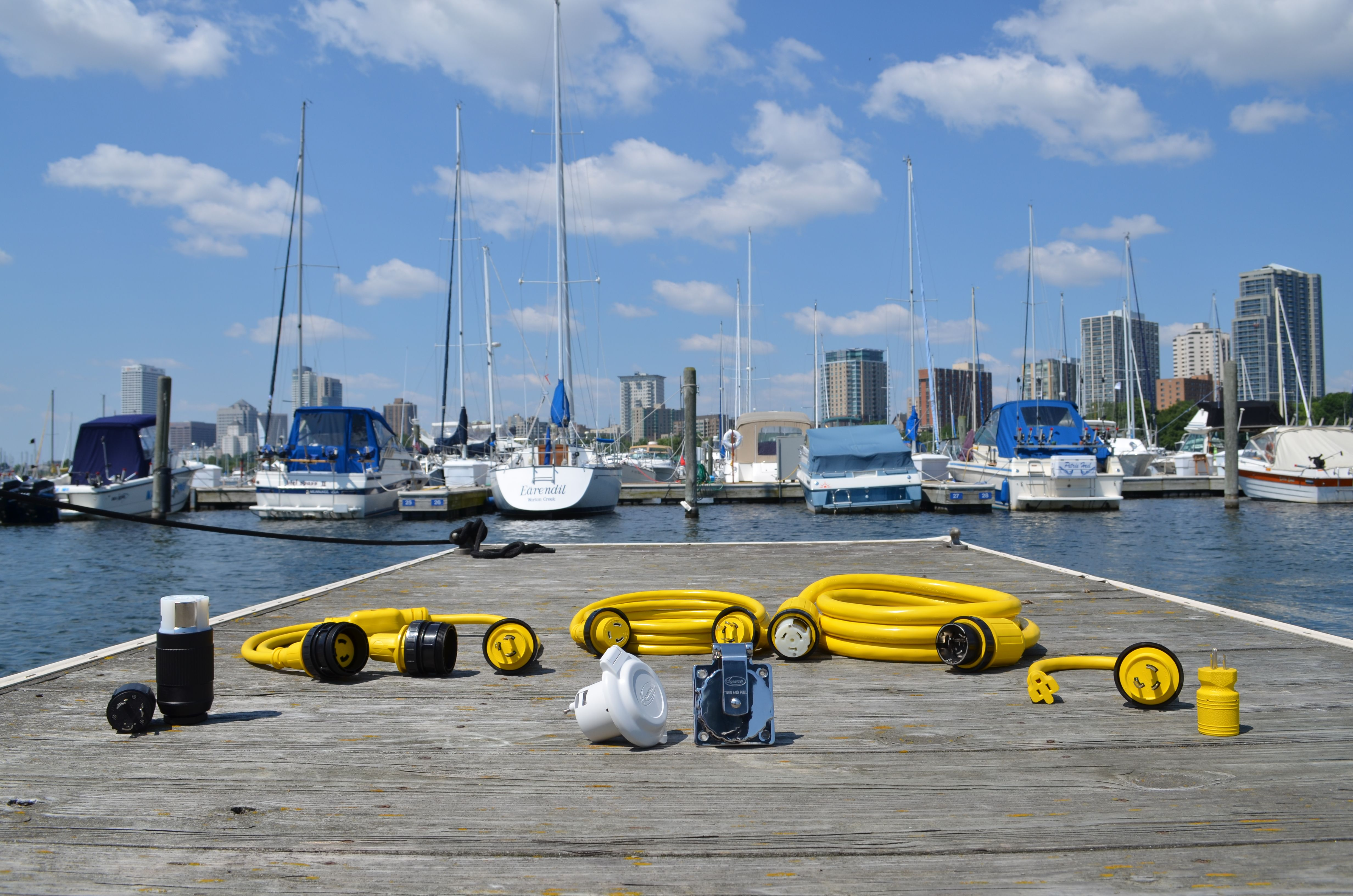 Need To Power Your Boat At The Slip    Dock  Plug In With