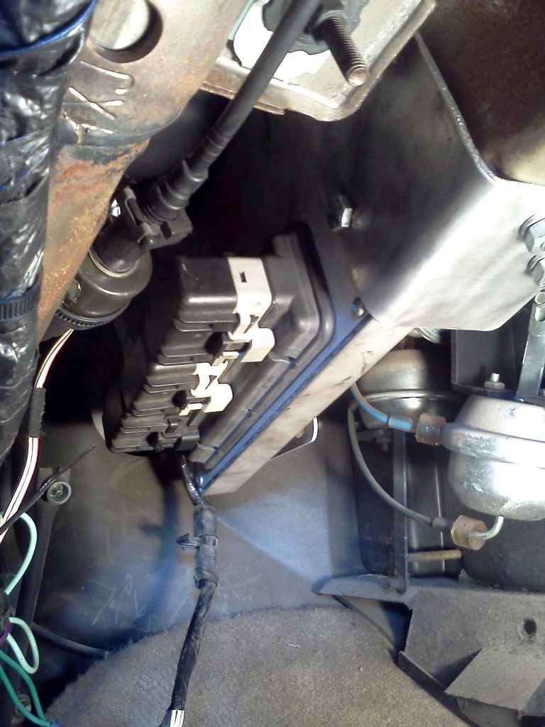 Relocating The Factory Ecu With Pictures Jeep Cherokee Forum