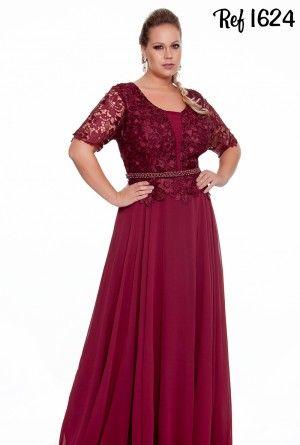 Vestidos Plus Size - Coleção 2016 - Aiza Collection