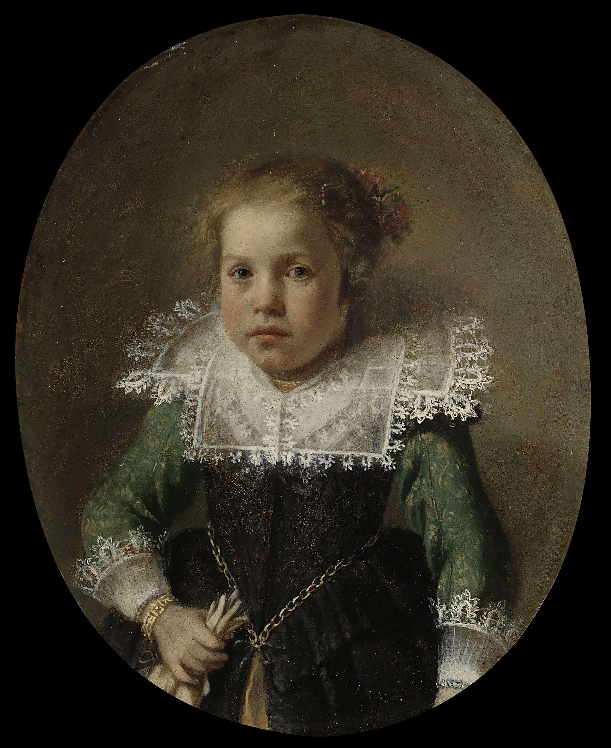 Anonymous, Portrait of Maria Cornelisdr van Esch, 1632 - Rijksmuseum Amsterdam