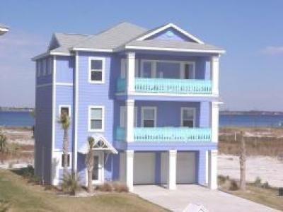 Pensacola Beach House For By Owner Summer Blues Get Inspired Your Next Exterior Painting Project With Our Color Gallery