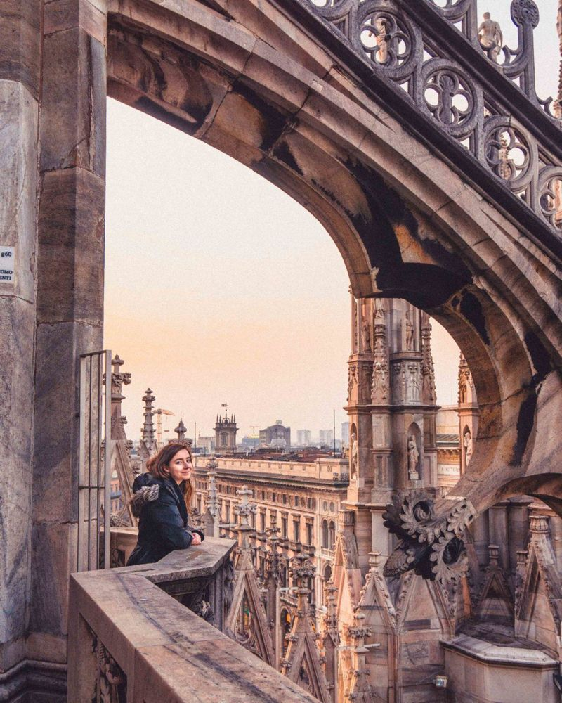Looking for the best view in Milan? Here's how to visit the rooftop terrace for Milan's Cathedral in Lombardy, Italy