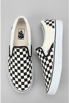 4cb6bac4e9a9e0 Vans Checkerboard Slip-On Sneaker from Love Q333. Shop more products from  Love Q333 on Wanelo.