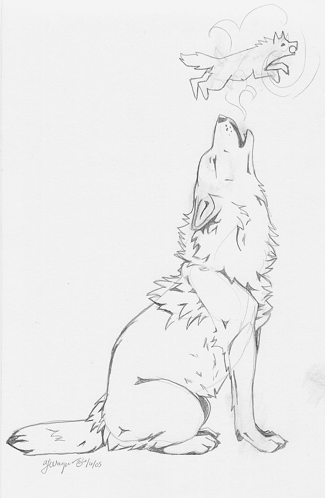 Photo of Howling Wolf – tattoo idea by chenneoue on DeviantArt