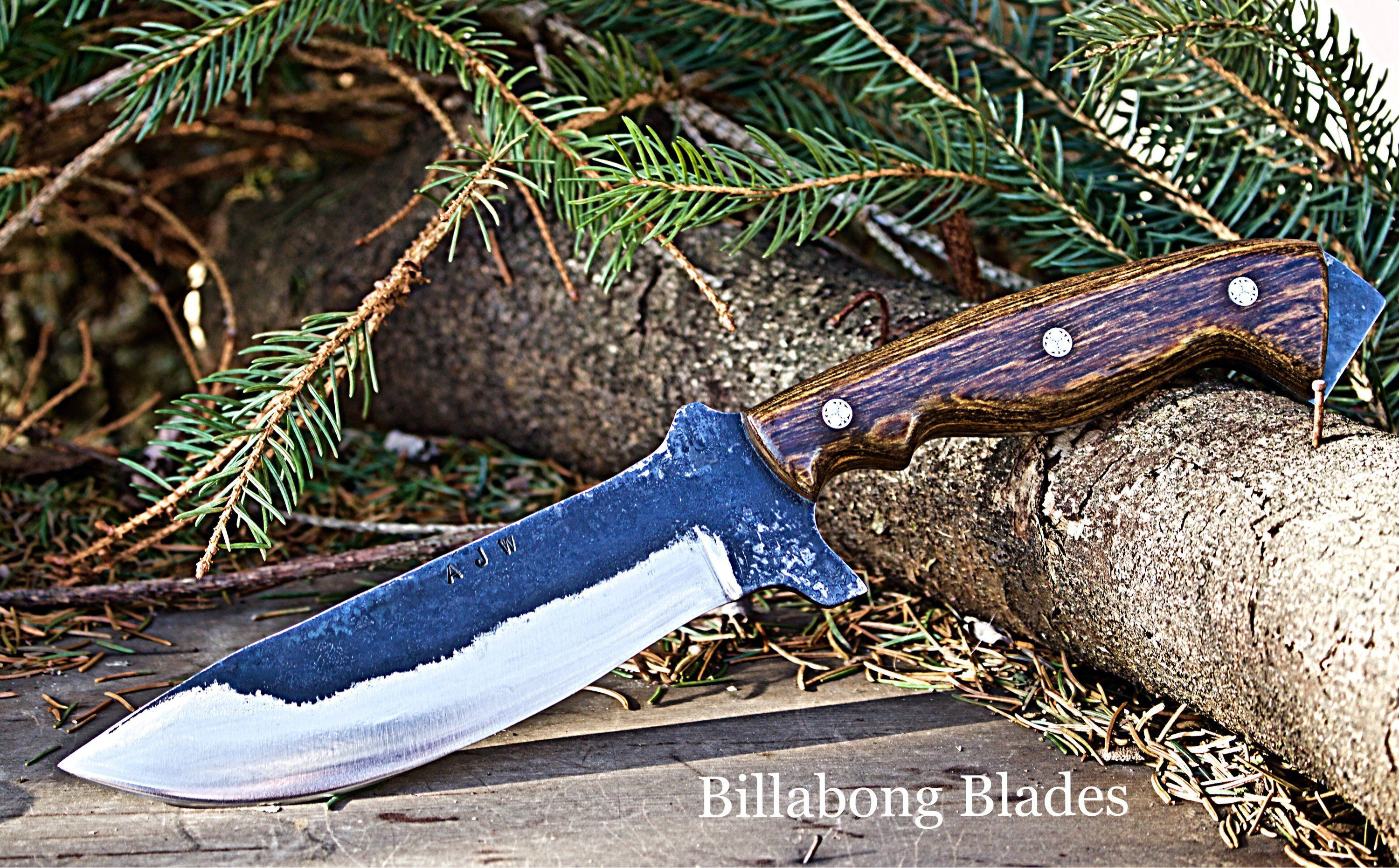 Nightengale with dark hardwood handle and mossic pins | Chef