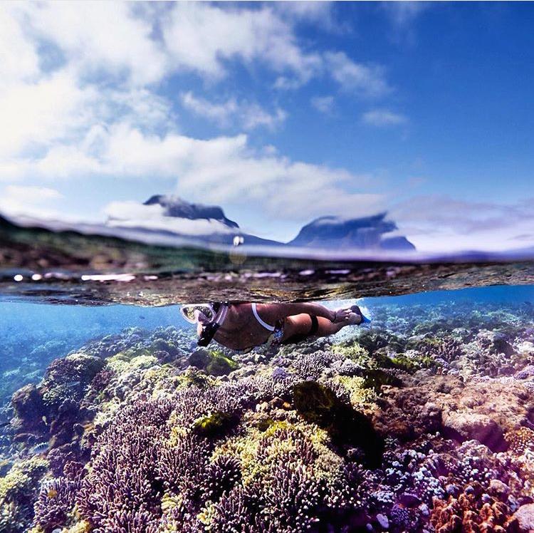 Lord Howe Island Beaches: Erscott's Hole Is One Of Lord Howe Island, Australia's