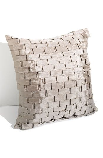 Bricks Pillow Satin Basket Weave 18 Quot Square Polyester