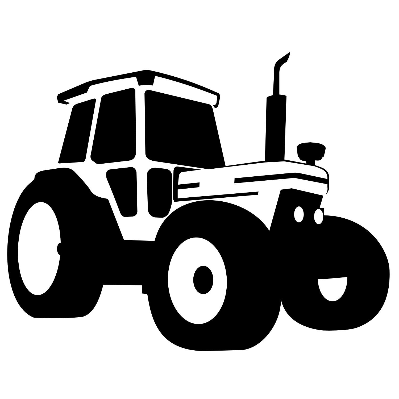 Tractor vector | magasindesign | Wandschablonen ...