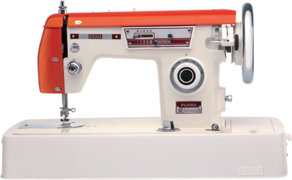 usha flora orange zig zag sewing machine vintage machines rh pinterest com usha janome wonder stitch sewing machine user manual usha janome prima stitch sewing machine user manual