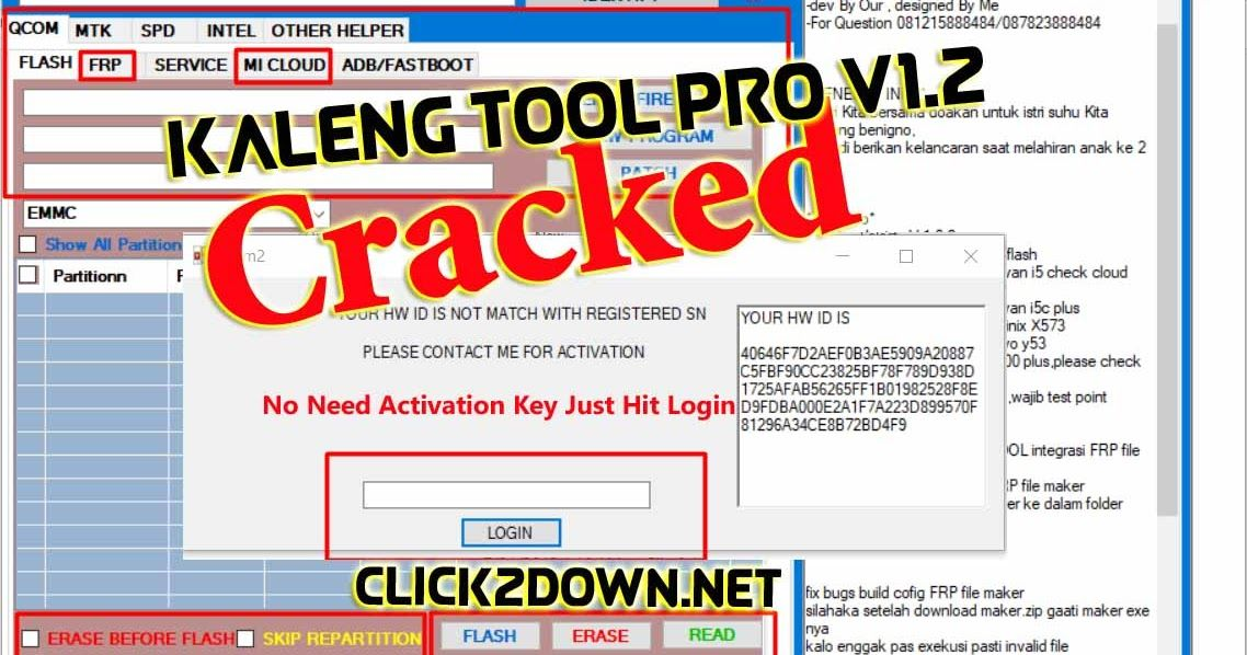 Kaleng Tool Pro V1 2 Full Craked I Qualcomm MTK SPD I Flash