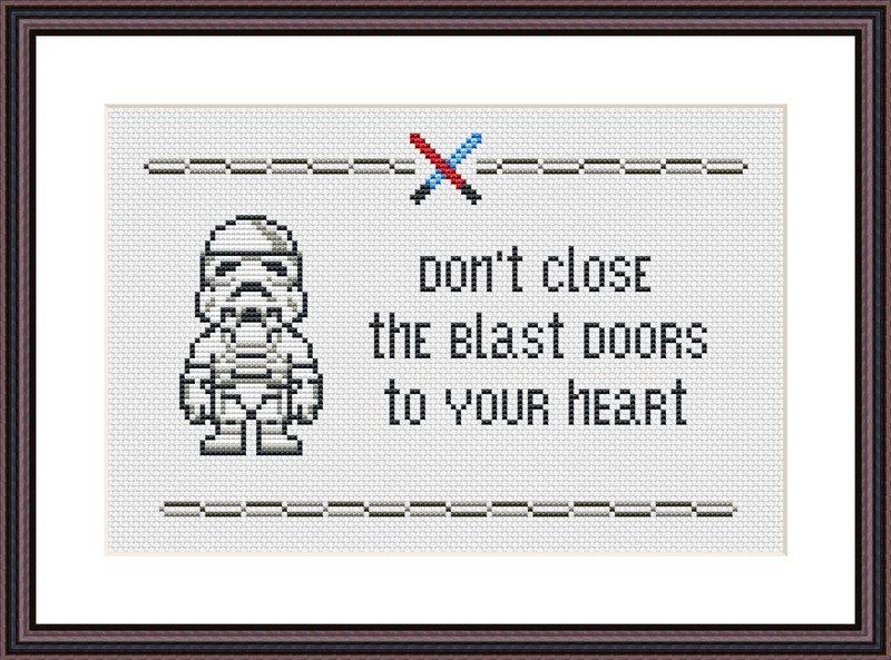 Star Wars Funny 2-pack of Cross Stitch PDF от CrazzzyStitch   Pixel ...