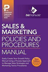 Sales Marketing Policies And Procedures Manual Accounting