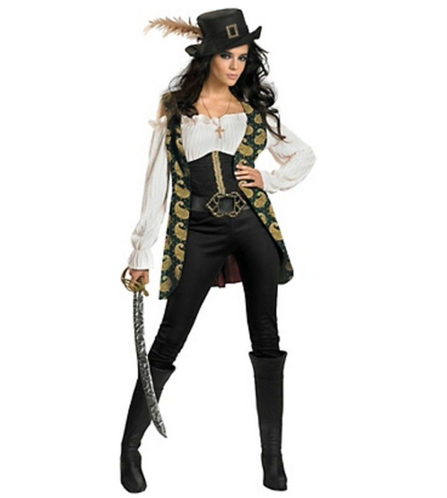 details about neu pirates of the caribbean angelica deluxe kost m fasching karneval damen. Black Bedroom Furniture Sets. Home Design Ideas