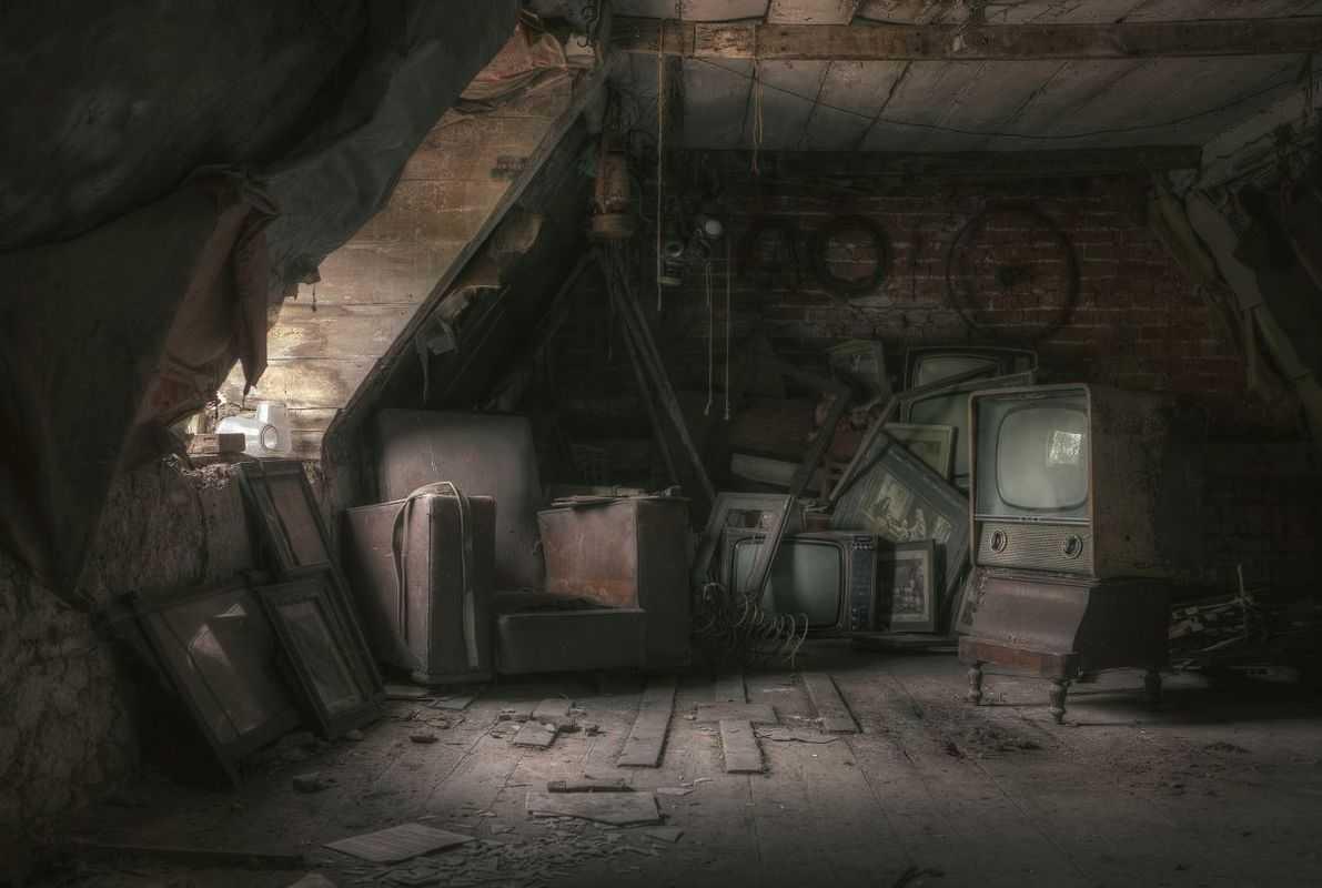 Abandoned Attic Renovation Attic Rooms Small Attics