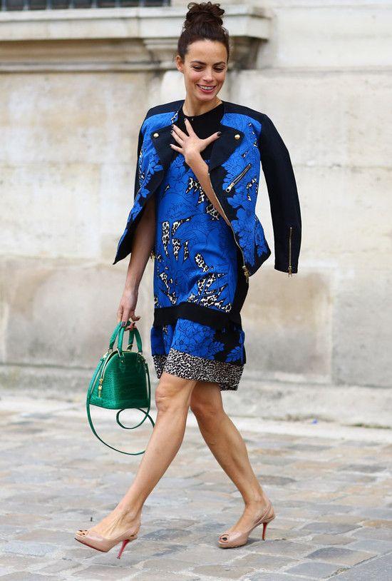 #fashion-ivabellini Blue Flowers