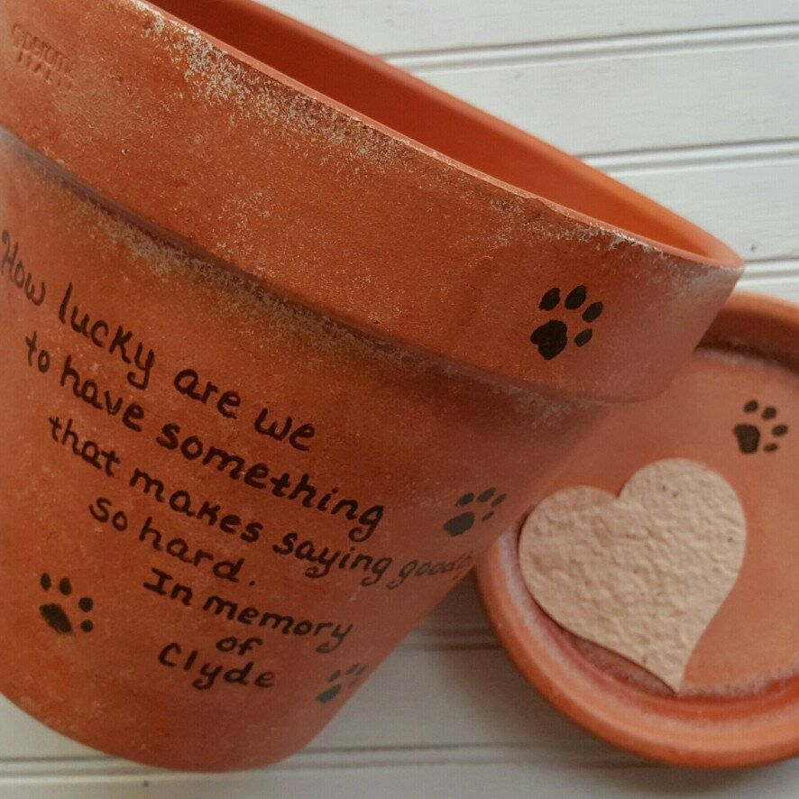Gift for pet loss sympathy pet gift large planter dog