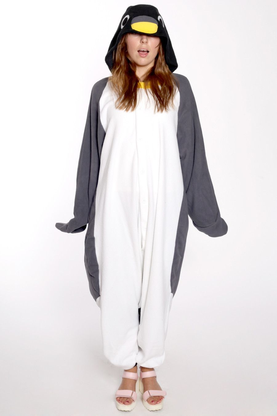 Penguin Adult Onesie Pajamas Adult Pajamas Penguin Costume