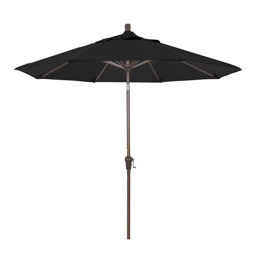 California Umbrella 9 ft. Aluminum Market Auto Tilt