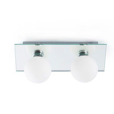 Applique 2 lampes design Faro Salle de bain 63006   Allume la ...