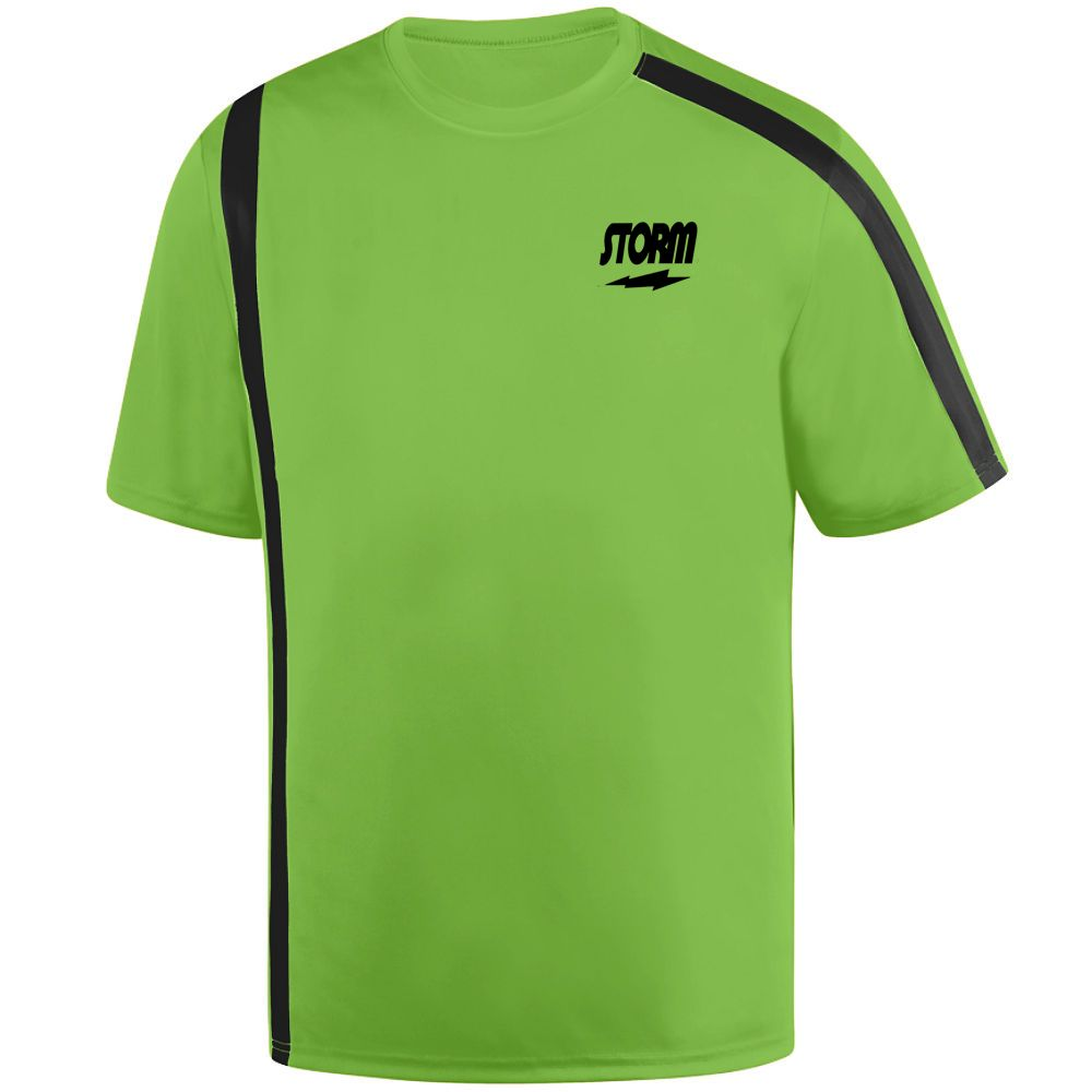 Men 159101: Storm Men S Dimension Performance Crew Bowling Shirt Dri-Fit Lime Green -> BUY IT NOW ONLY: $39.95 on eBay!