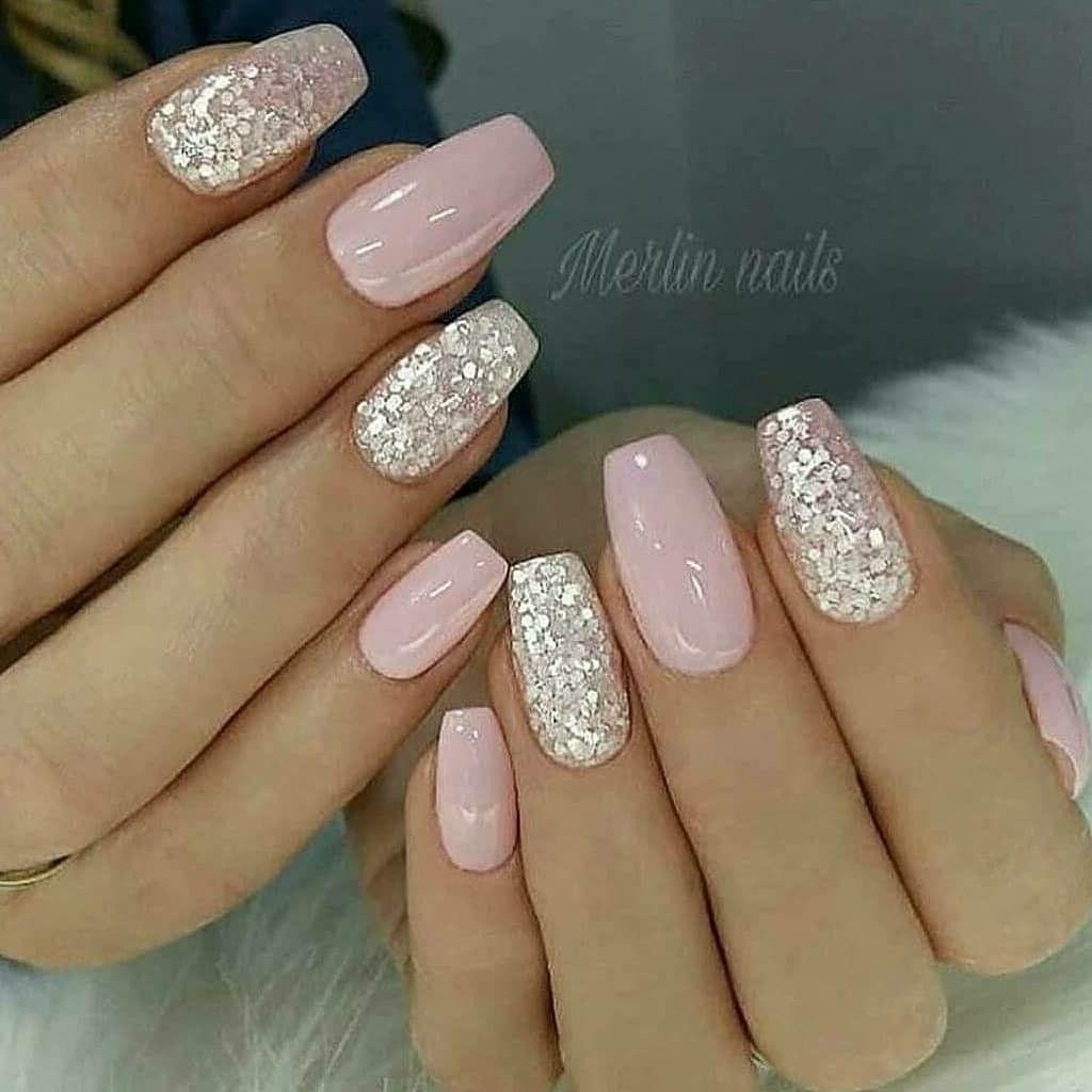 Pin By Diane Garner On Gel Semipermanente Nail Designs Pink Nail Art Pink Nails