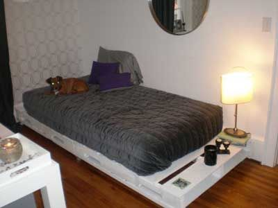 20 camas hechas con paléts de madera Olympus digital camera and House - camas con tarimas