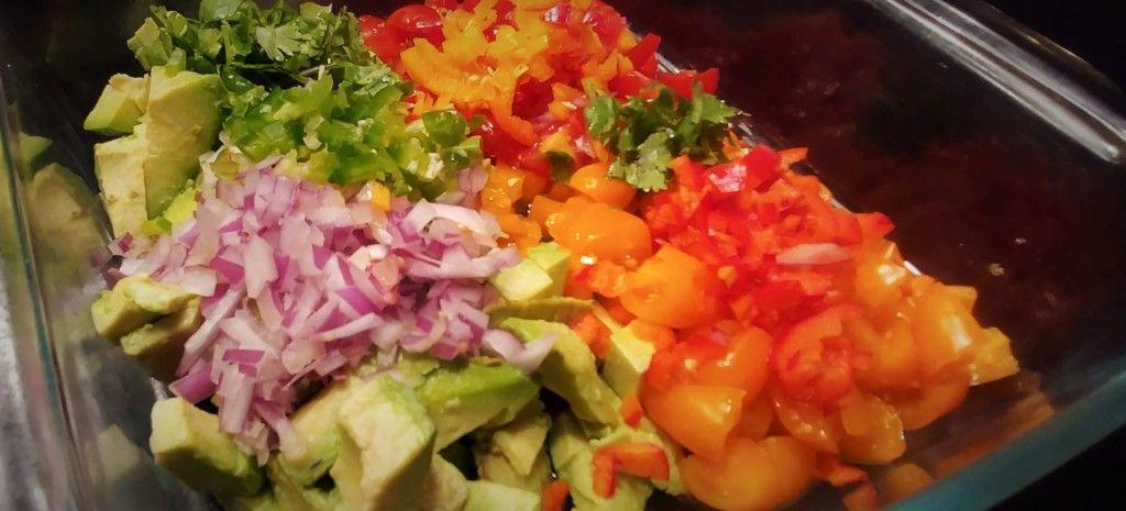 Keto avocado salsa recipe keto avocado avocado salsa