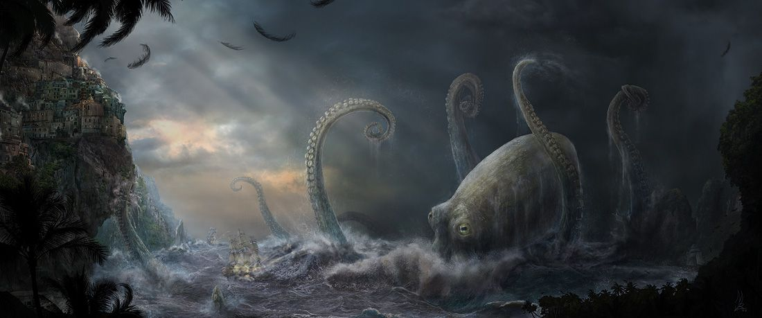 Epic Creatures Gallery 50 Images Sea Monsters Ocean Monsters Creepy Pictures
