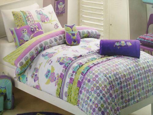 7-piece-Jiggle-Giggle-Girls-Hooty-Owl-Double-Bed-Quilt-Cover-Set ... : owl double bed quilt cover - Adamdwight.com
