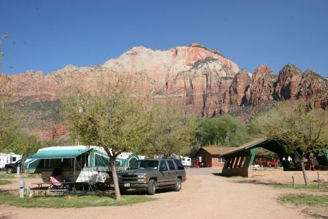 Zion National Park Campground Zion Canyon Campground And