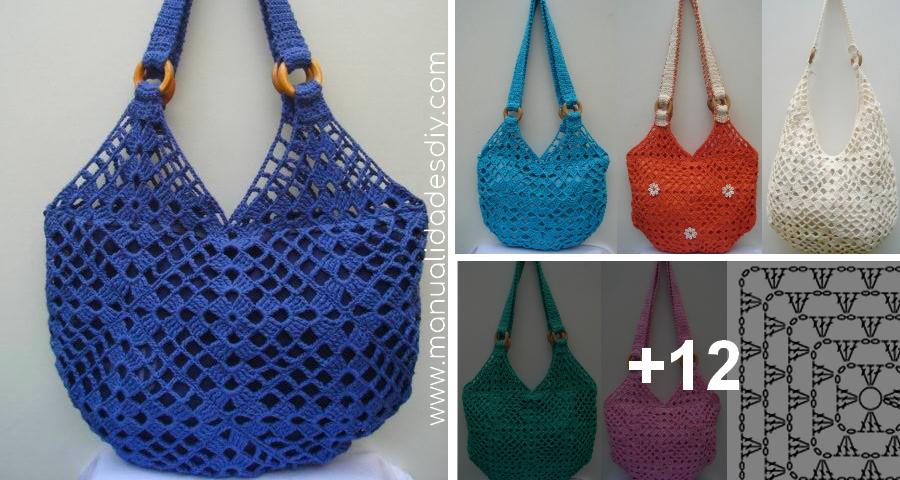 Como Tejer Un Bolso A Crochet Facil