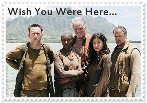 Postcard From Your Long Lost Other Relatives Ben Bea Tom Alex