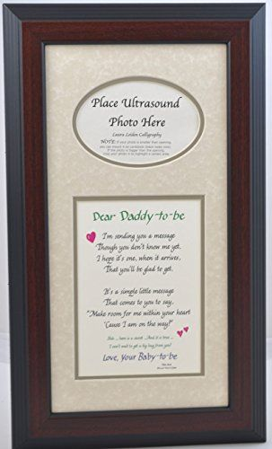 Daddy to Be Ultrasound Picture Frame 7x14 Sonogram Gift, Choose Your ...